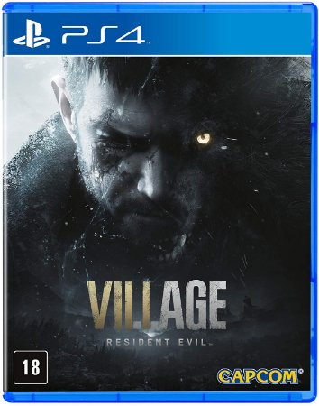 Resident Evil 8 Village - PS4 - Novo