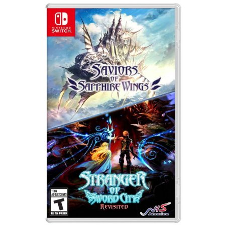 Saviors of Sapphire Wings / Stranger of Sword City Revisited Double Pack - SWITCH - Novo [EUA]