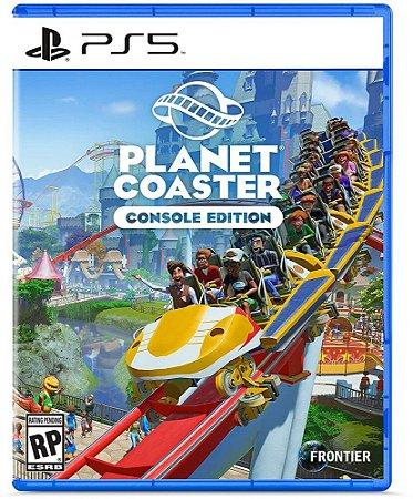 Planet Coaster - PS5 - Novo