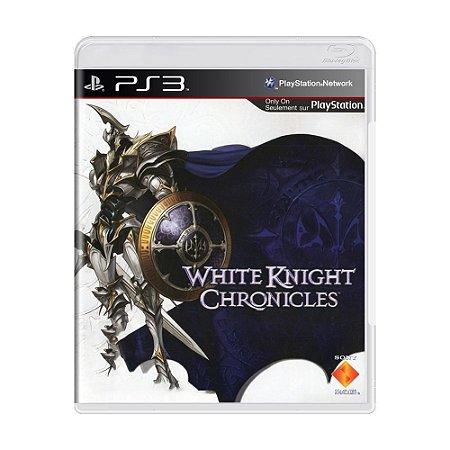 White Knight Chronicles - PS3 - Usado