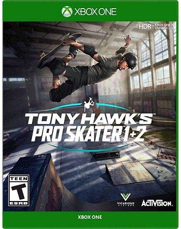 Tony Hawk's Pro Skater 1 + 2 - XBOX ONE - Novo