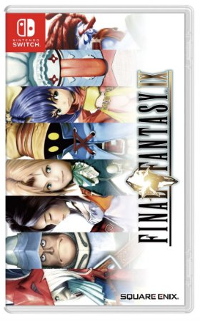 Final Fantasy IX - SWITCH - Novo [ÁSIA]