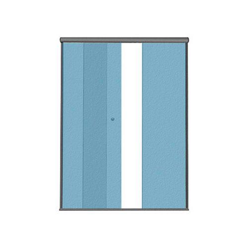 KIT BOX F2 1,80 m (Acessórios + Perfis)