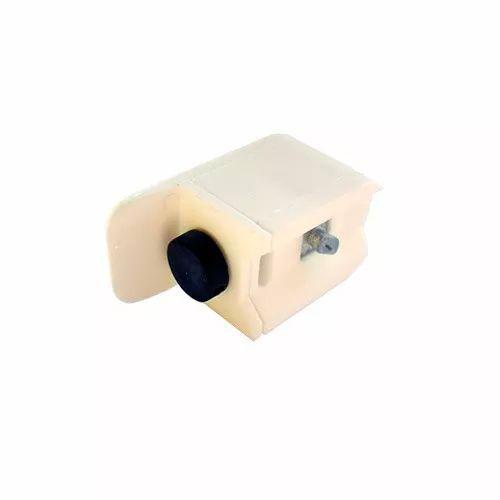 Batedor c/ amortecedor para box de vidro 8 mm branco