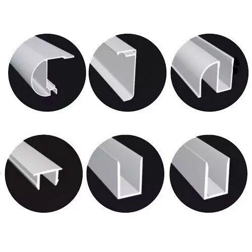 KIT BOX FRONTAL de correr 1,20mX1,90m para 1 vidro fixo e 1 vidro móvel