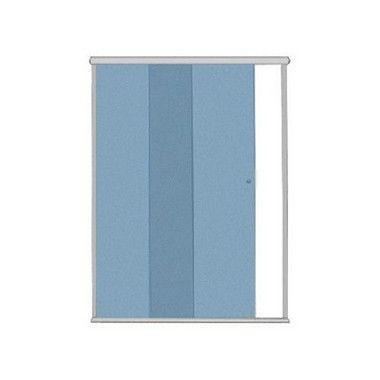 KIT BOX F1 1,33mX1,90m (Acessórios + Perfis) para 1 vidro fixo e 1 vidro móvel