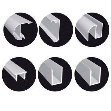 KIT BOX FRONTAL de correr 1,33mX1,90m para 1 vidro fixo e 1 vidro móvel