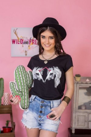 Camiseta Feminina Real Unicorn
