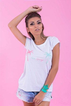 Camiseta Feminina Palm Springs
