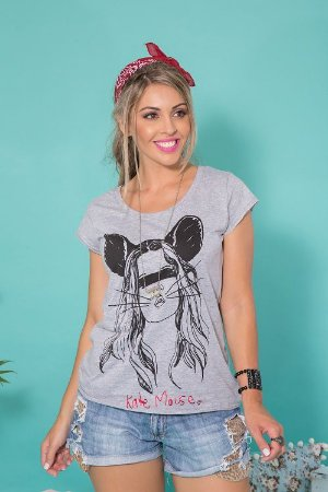 Camiseta Feminina Kate Mouse