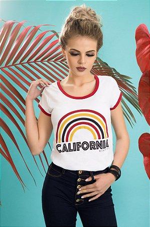 Camiseta Feminina California