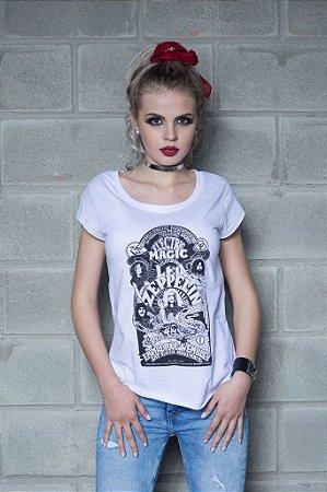 Camiseta Feminina Magic Led Zeppelin