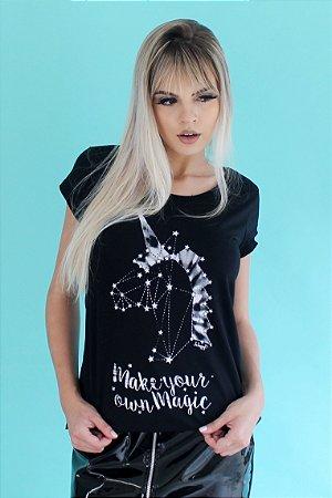 Camiseta Feminina MAKE YOUR MAGIC