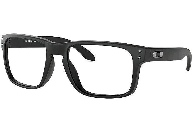Armação Óculos de Grau Oakley Masc. Holbrook RX OX8156-01 56