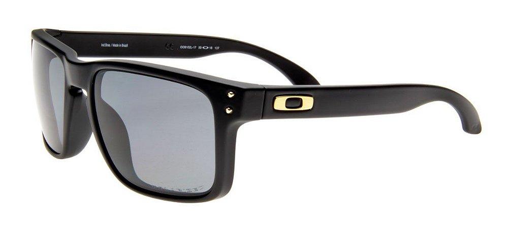 4203f618d78e3 Óculos de Sol Oakley Holbrook OO9102L-17 Polarizado - Ótica Quartz