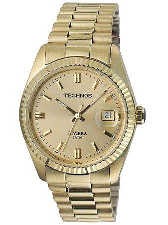 Relógio Technos Masculino Classic Riviera Analógico 2115EF/4X