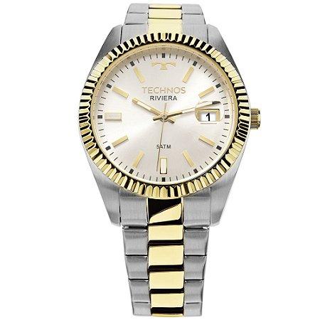 Relógio Technos Unissex Classic Riviera Analógico 2415CG 5B - Ótica ... 3e14861ca2
