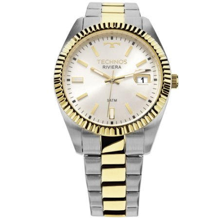 Relógio Technos Unissex Classic Riviera Analógico 2415CG 5B - Ótica ... 96209d95b1