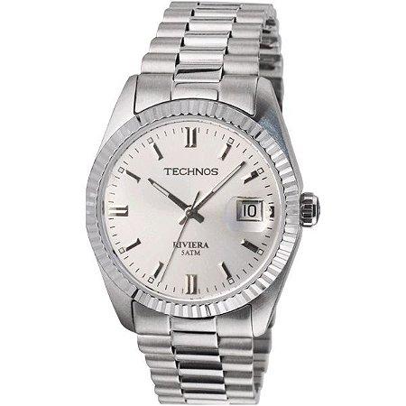 30829a055985c Relógio Technos Masculino Classic Riviera Analógico 2115EG 1K ...