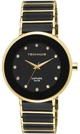 e6ecaf54dceb0 Relógio Technos Feminino Elegance Ceramic Sapphire Analógico 2035LMM ...