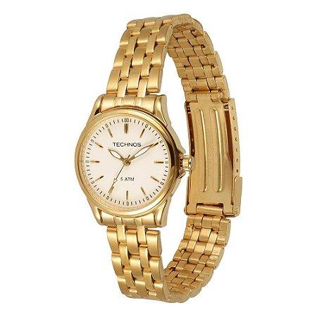 0ce5e8ed096 Relógio Technos Feminino Elegance Boutique Analógico 2035DDS 4B ...