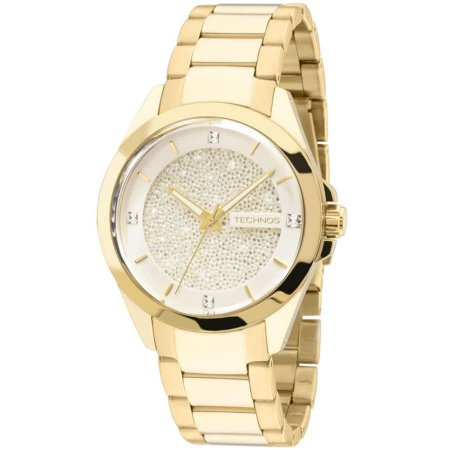 Relógio Technos Feminino Elegance Crystal Swarovski Analógico 203AAA ... 45bb1d1639