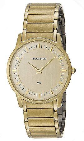 c598a0011f028 Relógio Technos Masculino Classic Slim Analógico GL20AQ 4X - Ótica ...