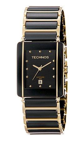 Relógio Technos Feminino Elegance Ceramic Sapphire Analógico GN10AAPAI 4P c02f272a1d