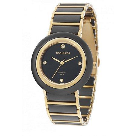 579e874d10bda Relógio Technos Feminino Elegance Ceramic Sapphire Analógico 2036LNE ...