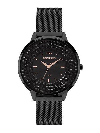 Relógio Technos Feminino Elegance Crystal Swarovski Analógico 2035MLF 1P 271283ff1b