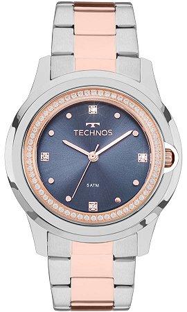 5719b64639f67 Relógio Technos Feminino Elegance Crystal Swarovski Analógico 2035MLI 5A