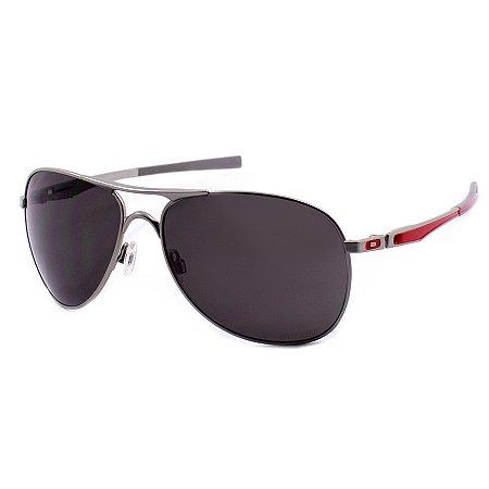 df2a824bdc8a2 Óculos de Sol Oakley Plaintiff Ducati Silver OO4057-08 - Ótica Quartz
