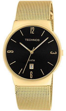 24c574aff6b6c Relógio Technos Feminino Classic Slim Analógico GM10IH 4P - Ótica Quartz