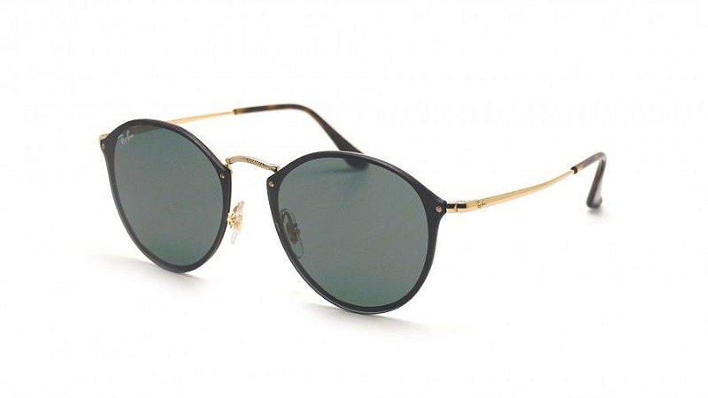Óculos de Sol Ray-Ban Blaze Round RB3574N 001 71 - Ótica Quartz 171a80887c
