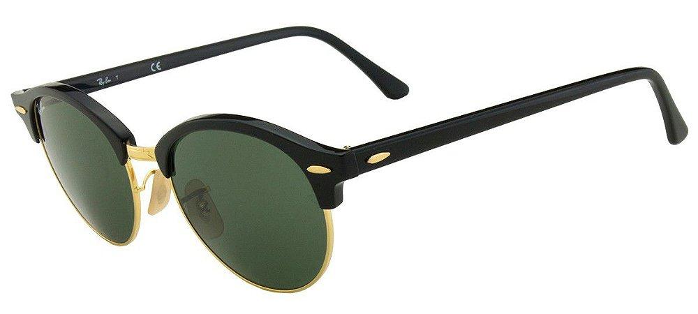 0d46f5d1c9e77 Óculos de Sol Ray-Ban Clubround RB4246 901 51 - Ótica Quartz