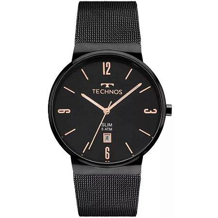 Relógio Technos Unissex Classic Slim Analógico GM10YJ 4P - Ótica Quartz ab10f24d78