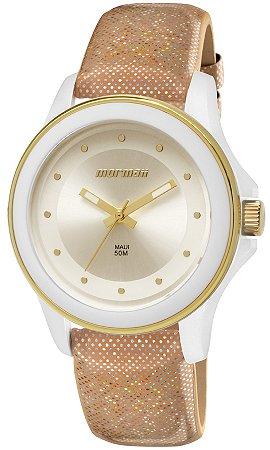 ebdfb350bb5 Relógio Mormaii Feminino Maui Luau Analógico MO2035FP 2K - Ótica Quartz