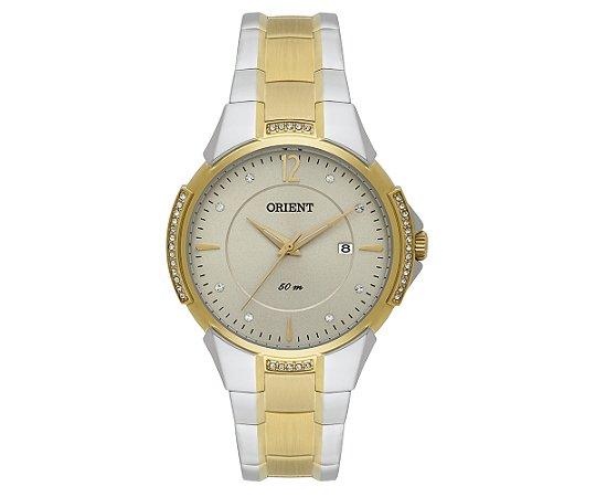 6927602978a Relógio Orient Feminino Eternal Cristais Swarovski Analógico FTSS1096 C2KS