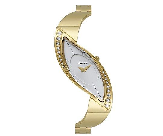359cd0c639a Relógio Orient Feminino Unique Cristais Swarovski Analógico LGSS0051 S1KX