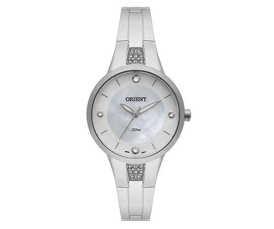 d00b9266aa5c5 Relógio Orient Feminino Eternal Cristais Swarovski Analógico FBSS0050 B1SX