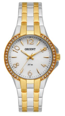 eb617868600 Relógio Orient Feminino Eternal Cristais Swarovski Analógico FTSS0046 S2SK
