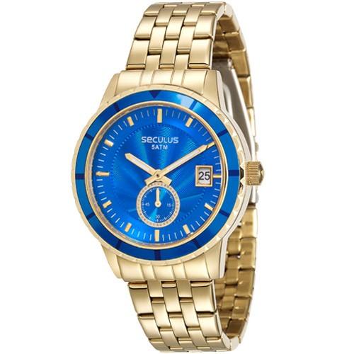 f28ec33e0e2 Relógio Seculus Feminino Analógico 28708LPSVDS3 - Ótica Quartz