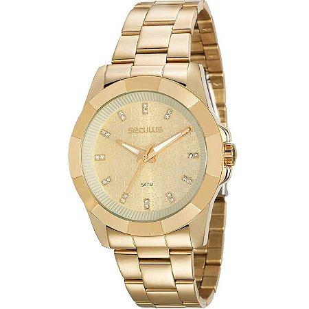 Relógio Seculus Feminino Glamour Analógico 20561LPSVDS3