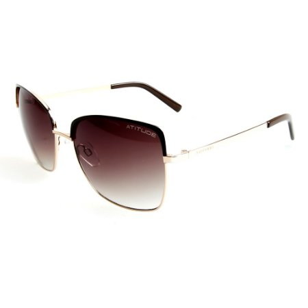 51302d6318d9d Óculos de Sol Atitude Feminino AT3162 04C - Ótica Quartz