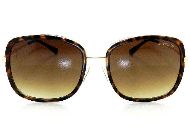 d40921353 Óculos de Sol Atitude Feminino AT3169 G21 - Ótica Quartz