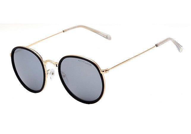 4a9f121f2cc4f Óculos de Sol Atitude Feminino AT3192 04B - Ótica Quartz