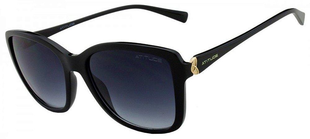 Óculos de Sol Atitude Feminino AT5300 A01 - Ótica Quartz ba0551e4e4