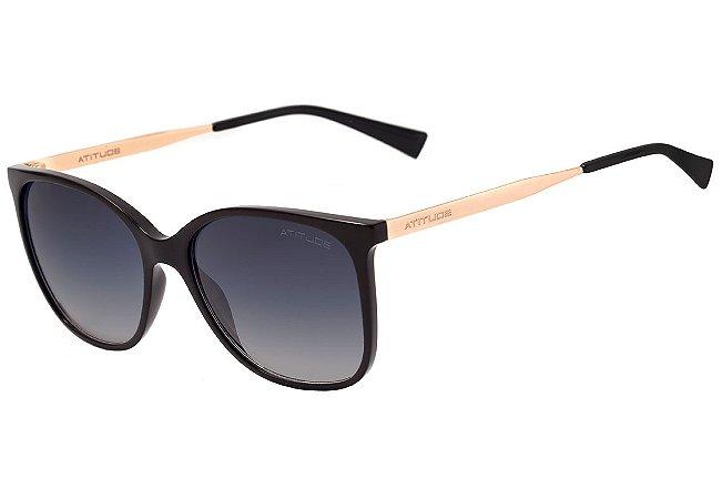 a3a4e915eb0dc Óculos de Sol Atitude Feminino AT5304 A01 - Ótica Quartz