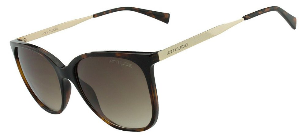 Óculos de Sol Atitude Feminino AT5304 G21 - Ótica Quartz f4c79182c1