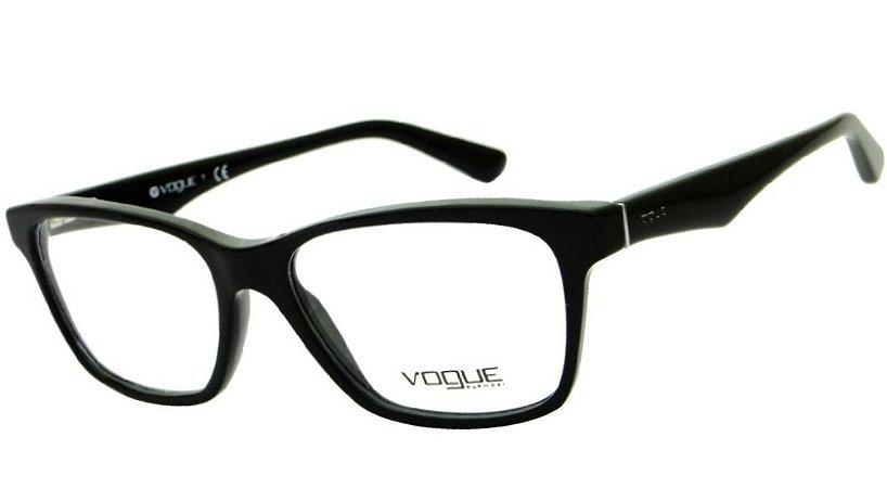 Armação Óculos de Grau Vogue Feminino VO2787 W44 - Ótica Quartz 114c5f2048
